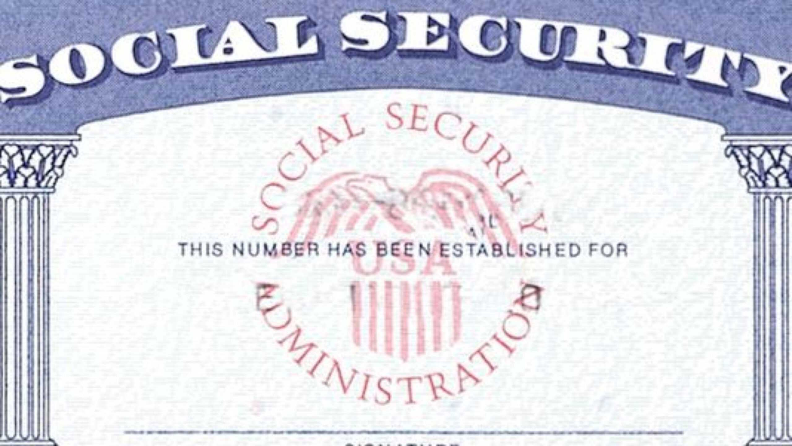 blank social security card template download  best